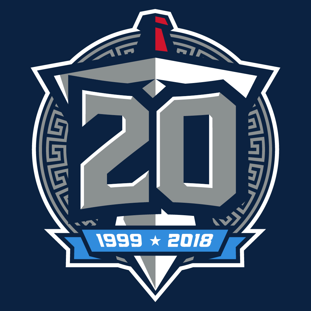 Titans 20th Season Logo