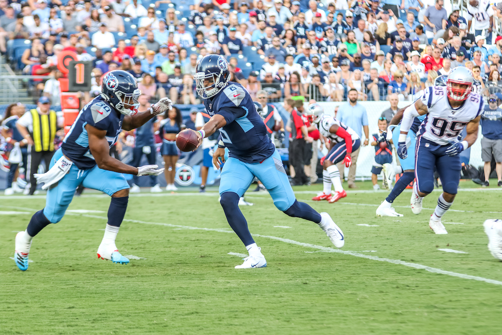 Thoughts on Marcus Mariota, more from Patriots 22, Titans 17